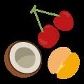 Frutas y frutos deshidratados