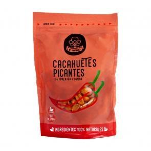 Cacahuetes picantes con pimentón y cayena